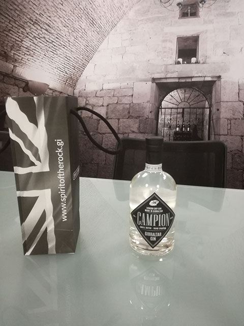 Spirit of the Rock - Gibraltar gin