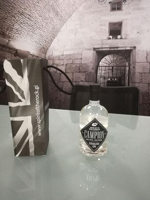 Spirit of the Rock - Gibraltar gin